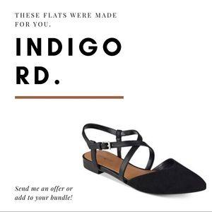 NWOT Strappy black sandal